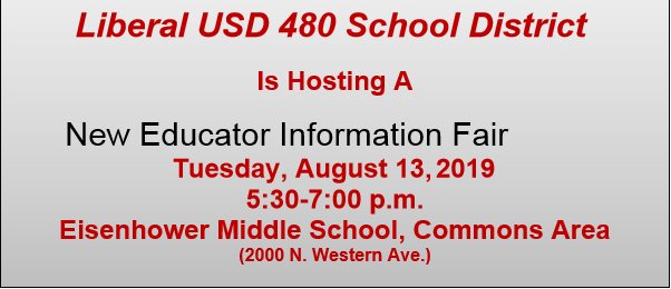 New Educator Information Fair 2019