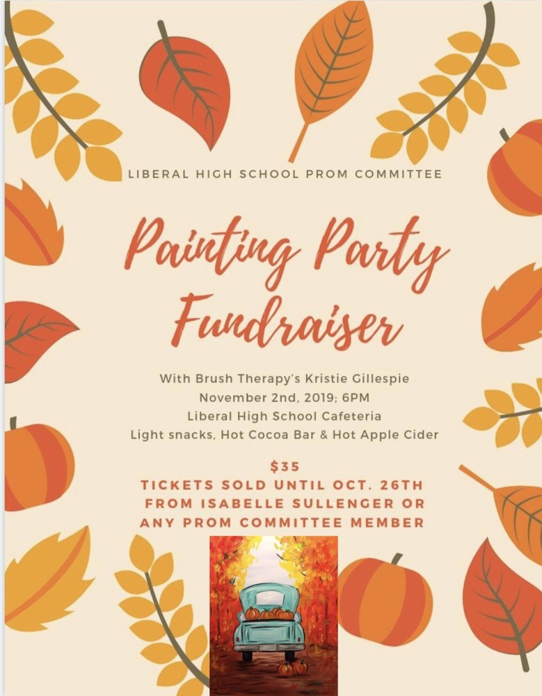 LHS Prom Painting Party Fundraiser!