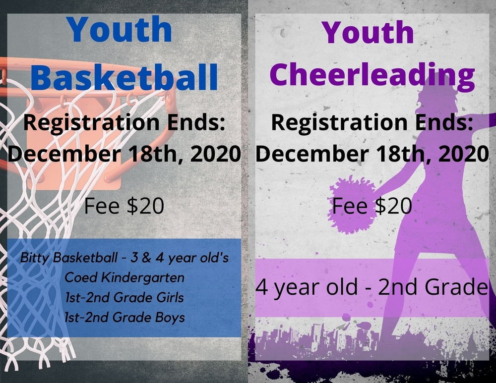 Youth Rec Sign ups