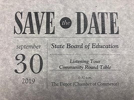 State Board Visit 9/30/2019