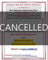 New Educator Information Fair - Cancelled