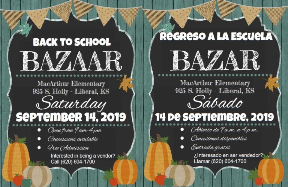 Back To School Bazaar