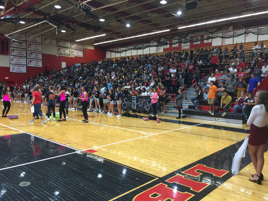 First Pep Assembly of the Year!