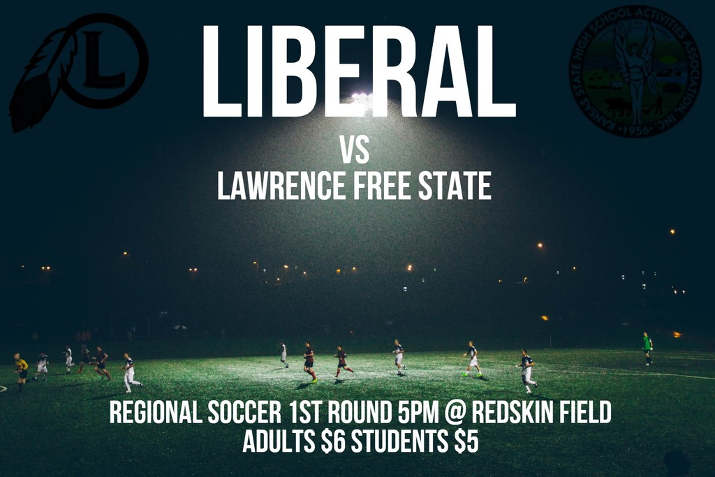 10/29 Liberal vs Lawrence Free State 5pm