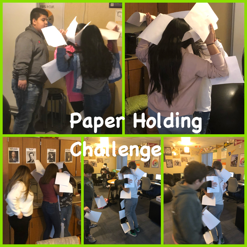 Paper Holding Challenge