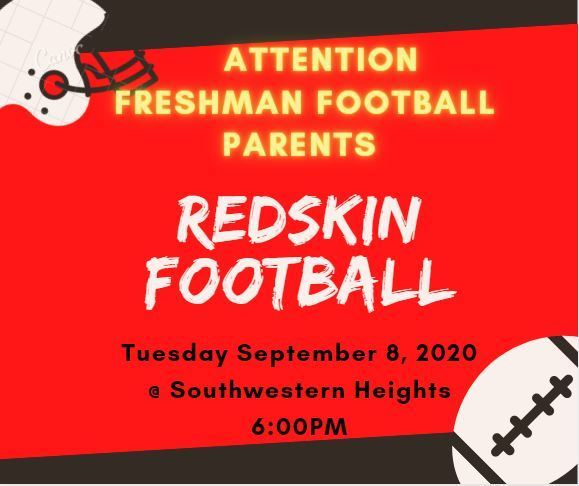 ATTENTION FRESHMAN FOOTBALL PARENTS
