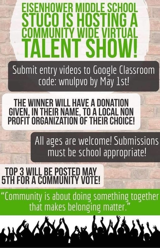 Community Wide Virtual Talent Show!
