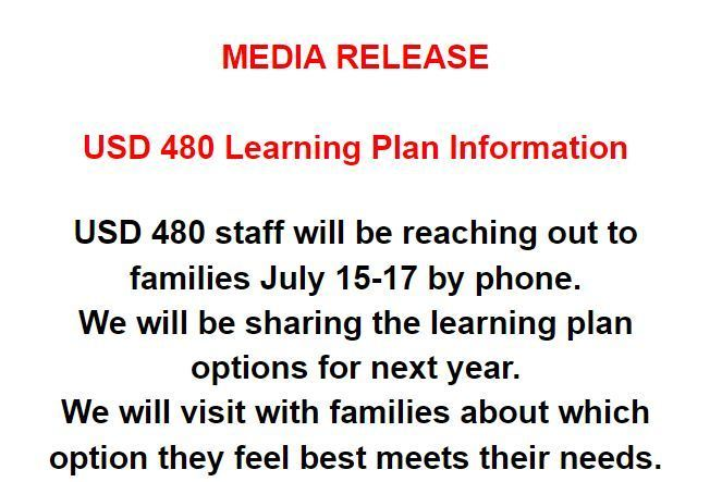 USD 480 Learning Plan Information