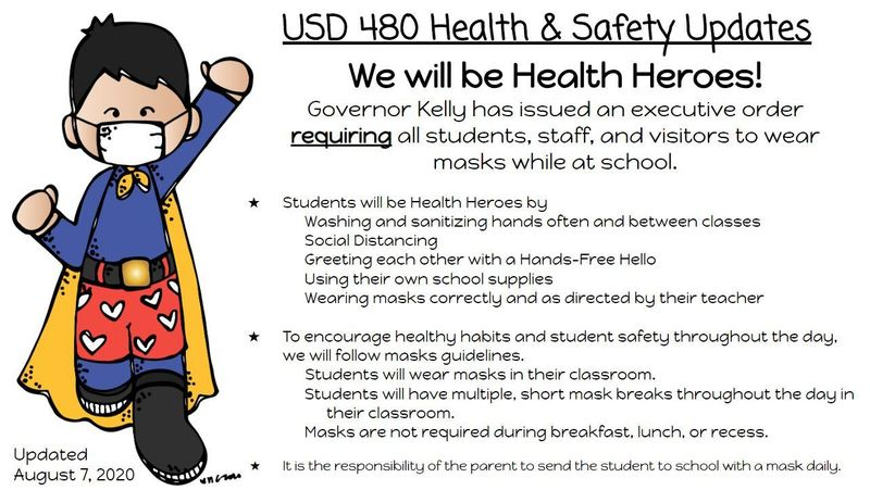 USD 480 Health and Safety Update
