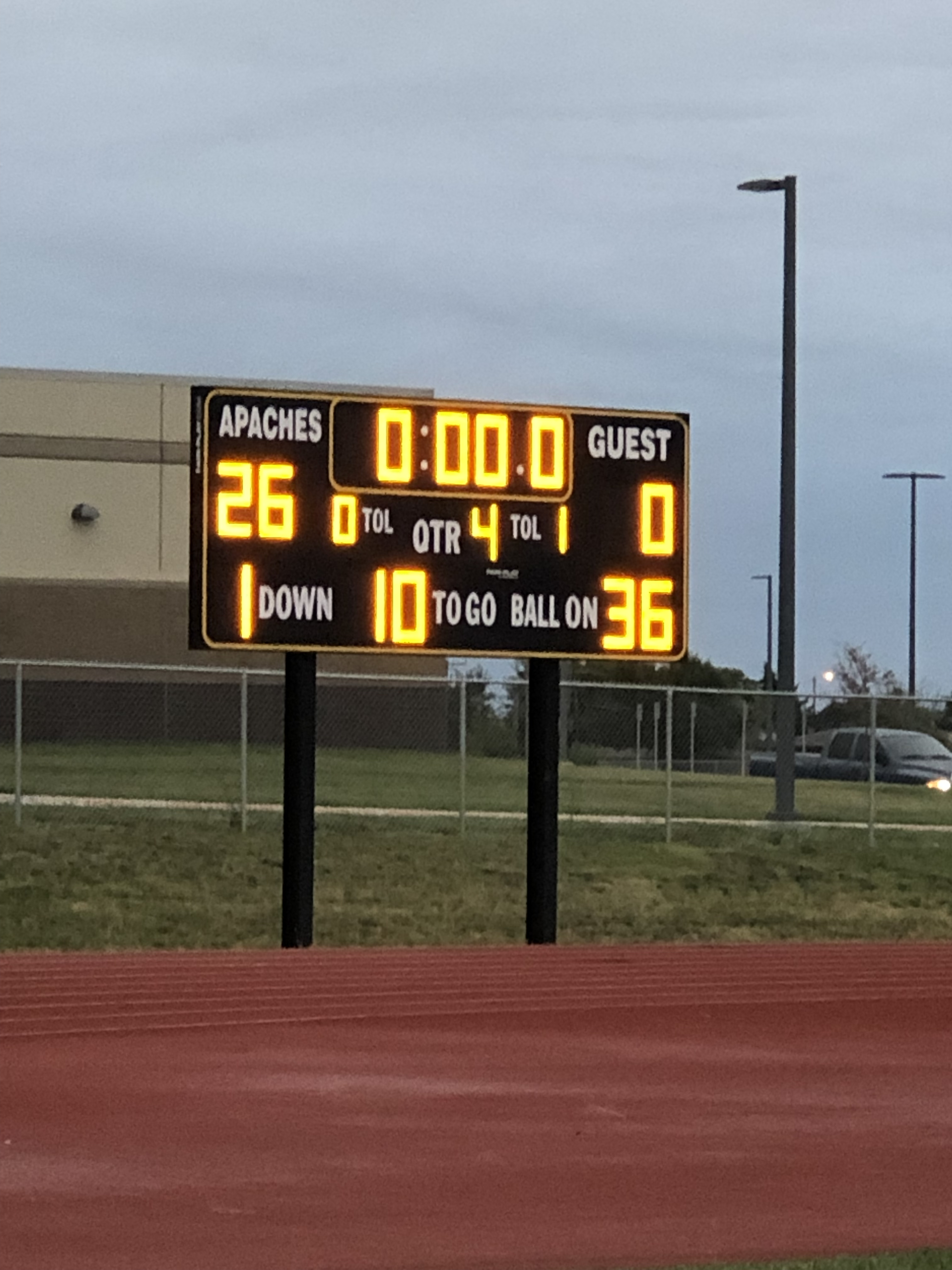 SRMS 8th beats Great Bend 26-0 7 th grade falls to GB 6-18. Go Apaches!!!