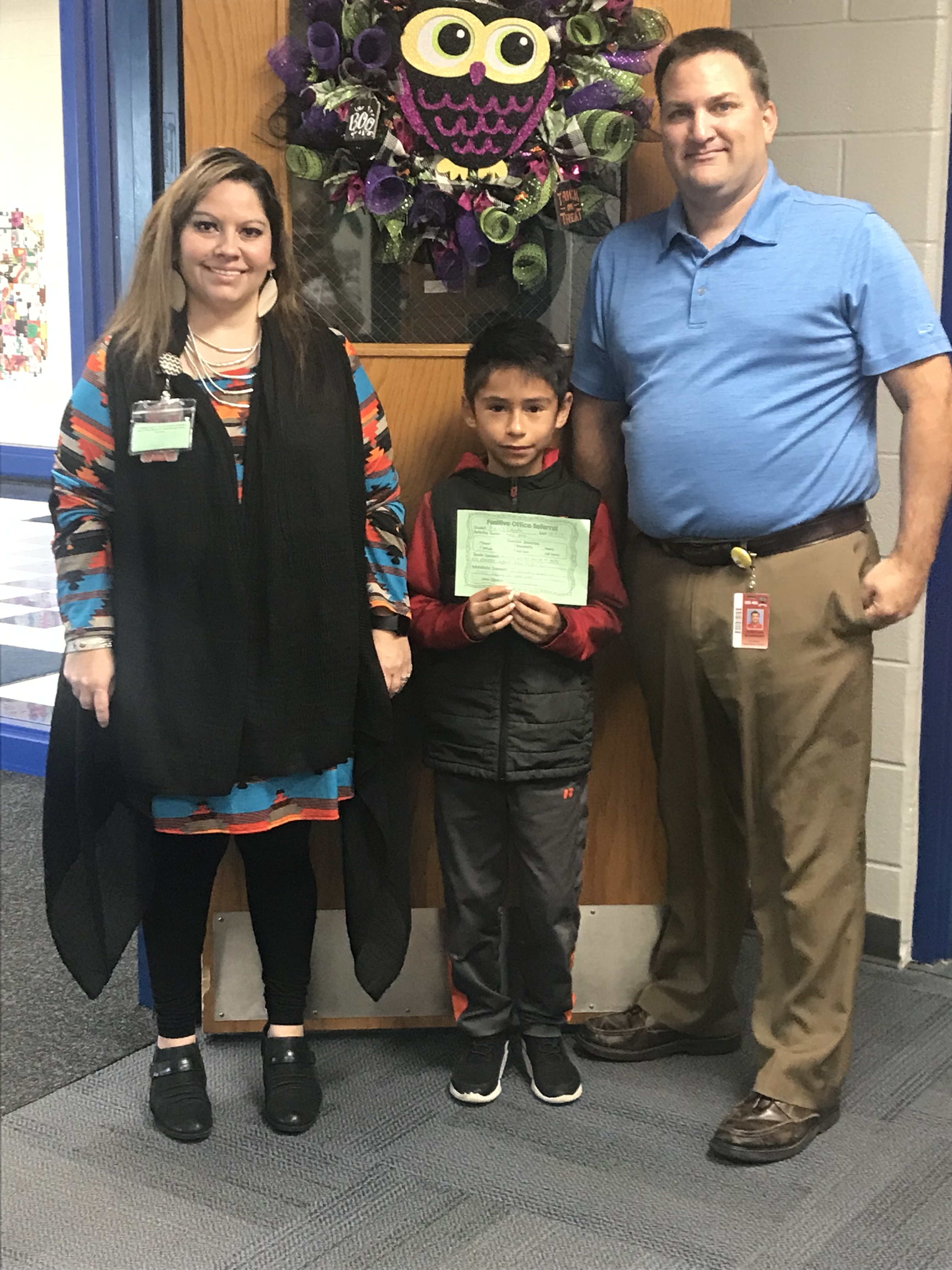 We love our Positive Office Referrals! Congratulations Sunflower Bees